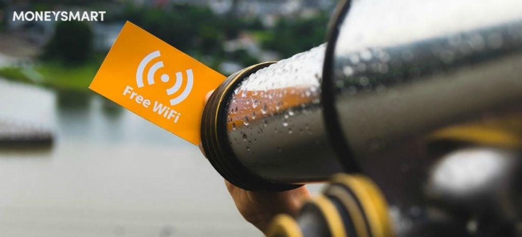 where to get free wifi singapore