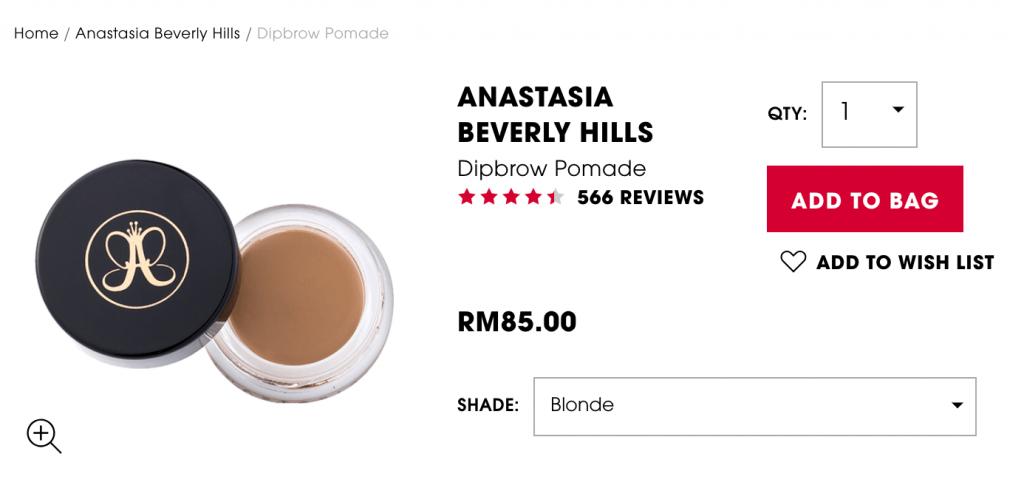 Sephora singapore vs malaysia