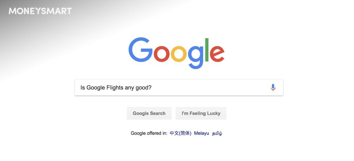 Google flights singapore