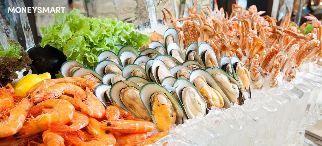 Seafood buffets singapore