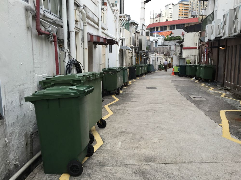 food waste singapore dumpster diving