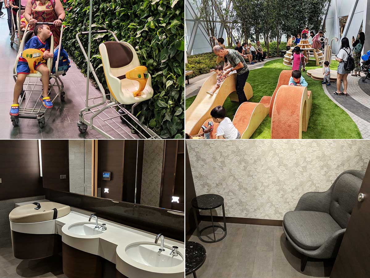 baby care facilities at jewel changi airport