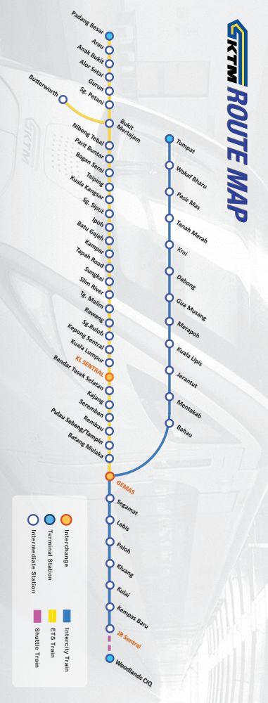 ktm train route map
