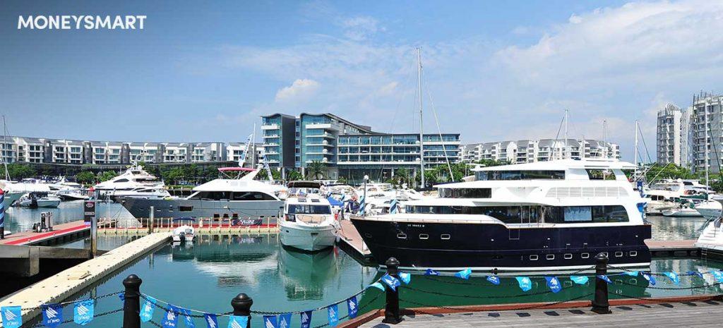 yacht boat singapore marina