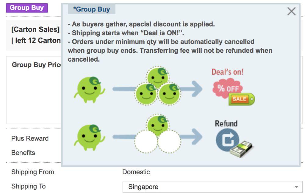 qoo10 group buy