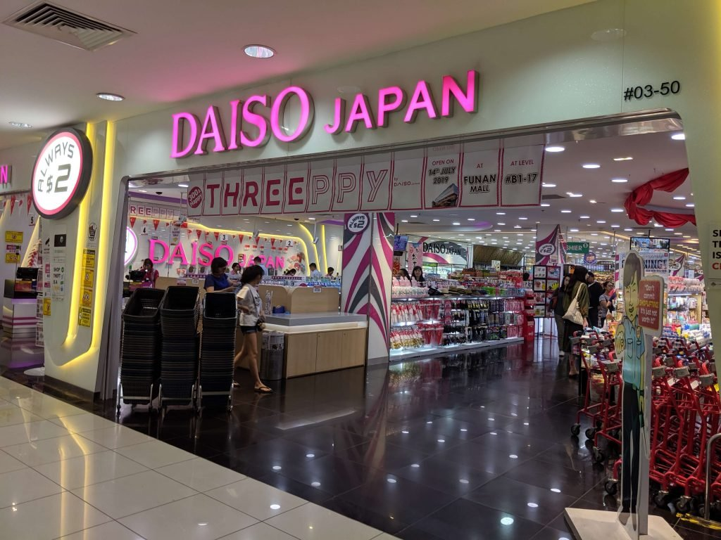 imm outlet mall daiso