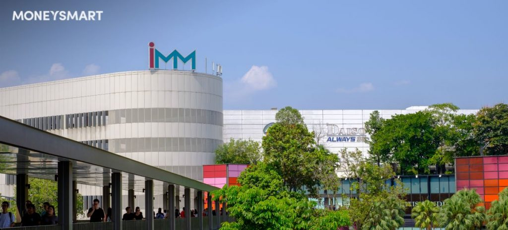 IMM singapore outlet mall