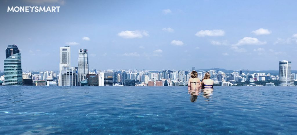 hotels with infinity pool