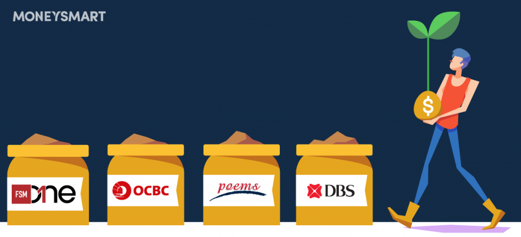 DBS vs OCBC vs POEMS vs FSMOne: Which Regular Savings Plan Should You Choose?
