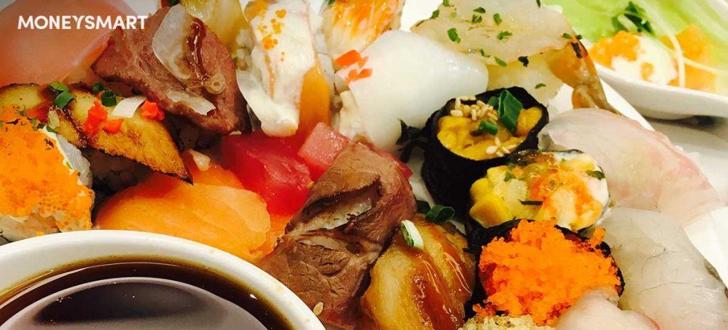 sushi buffets singapore