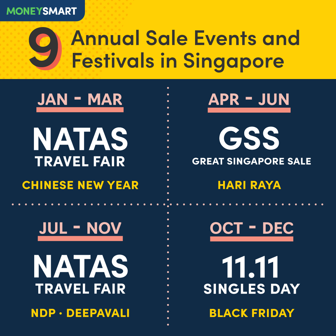 9 Annual Sale Events and Festivals in Singapore