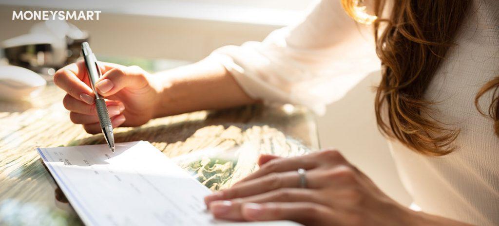 How to write a cheque singapore