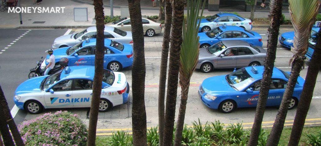 comfort taxi fares singapore
