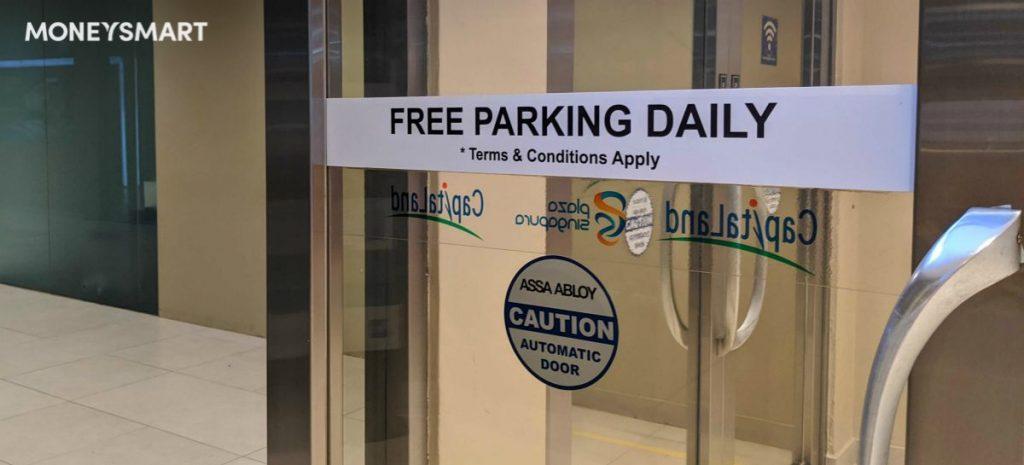 free parking singapore covid19