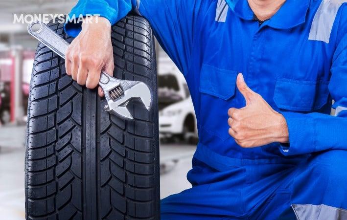 Borneo Motors - Total Tyre Shield - protection for Toyota, Suzuki, Lexus